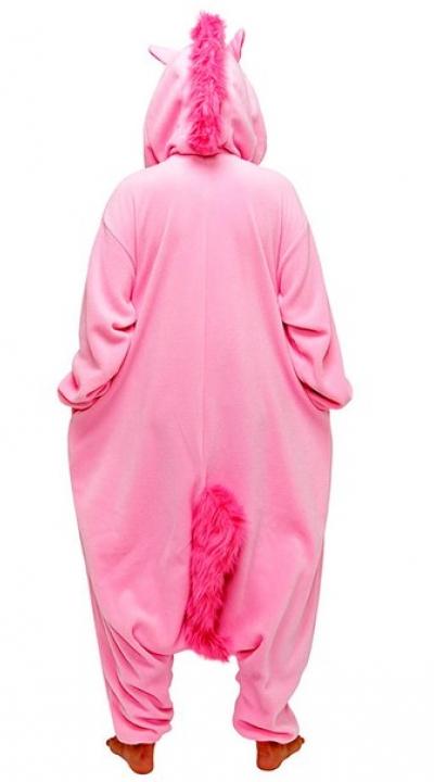 Единорог розовый